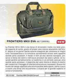 BORSONE-KKARP-FRONTIERS-MKII-EVA-60LT-CARRYALL-IL-MEGLIO-OGGI-PER-CARP-FISHING
