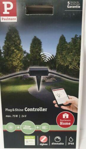 Paulmann 93999 Plug /& Shine Zigbee Controller für Außenleuchten IP68 SmartHome