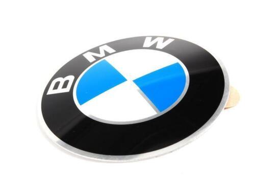 Original BMW E12 E23 E24 Raddeckel Emblem Zeichen 64.5mm OEM 36131181080