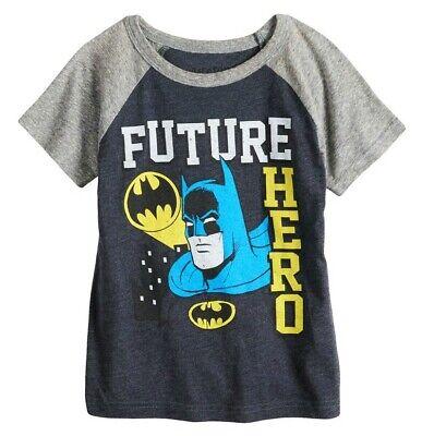 2T 3T and 4T NWT DC Comics Batman Toddler Boys Various T-Shirts Sizes 18M