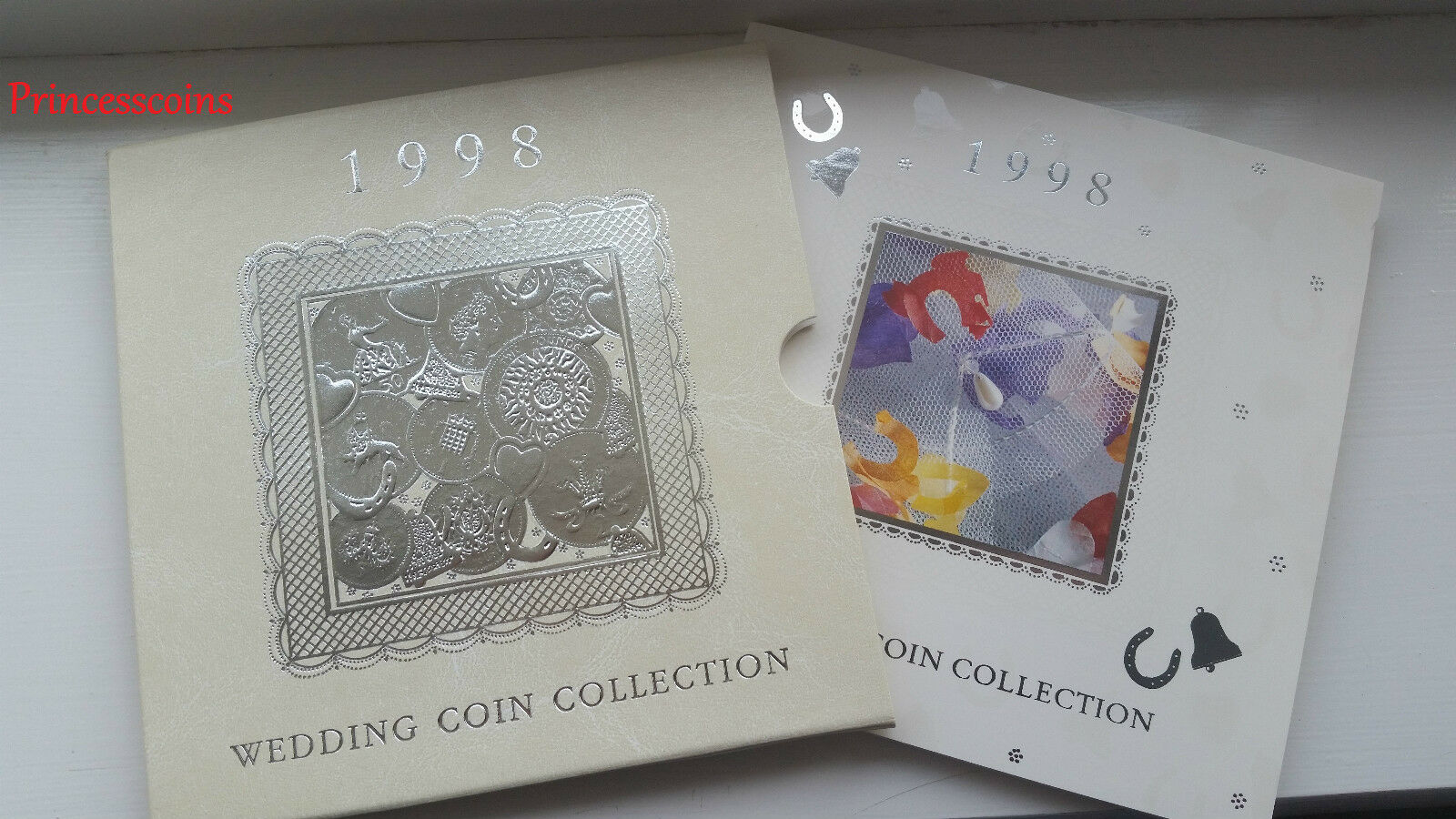 GB 1998 Royal Comme neuf bunc Cadeau Mariage 9 pièces Set-uk 20TH ANNIVERSAIRE
