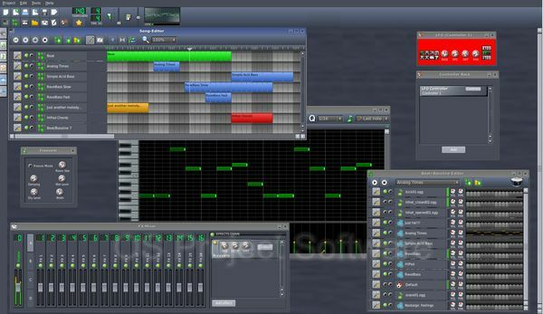 Audio Production App Software Music Mixing Editing Recording Audio Effects