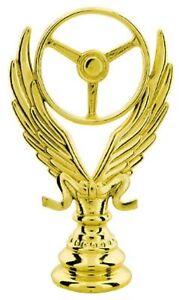 Race Car Trophy >> Winged Wheel Figure Race Car Racing Sport Trophy Award Low As 2 99