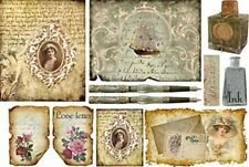 Rice paper 48х33 cm. LETTER. Decoupage. scrapbooking. crafts. STAMPERIA