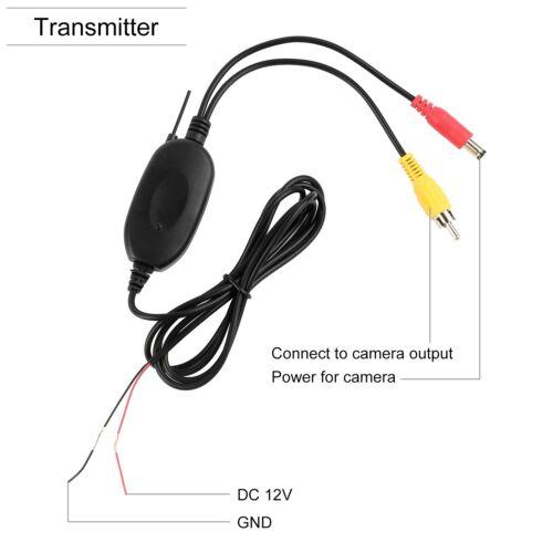 Rear View Camera Waterproof Wireless Backup Camera Monitor Kit License Plate