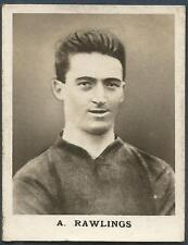 FOOTBALL CARD-CIRCA 1920'S-PRESTON NORTH END-ARCHIE RAWLINGS