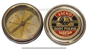 Nautical-Compass-Vintage-Brass-Antique-Maritime-Marine-Pocket-Gift-Compass