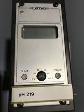 WTW pH Messgerät pH 219