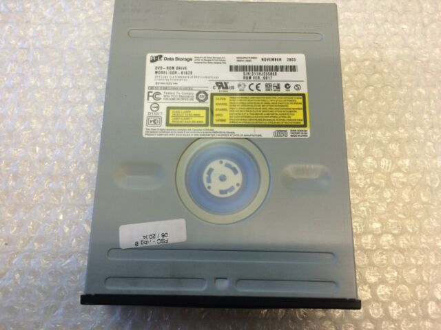 Lettore DVD LG GDR-8162B DVD-ROM drive 48X CD 16X DVD IDE Black