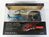 Coast Guard Propel Micro Wireless Indoor Helicopter Easy To Fly Turqoise Color