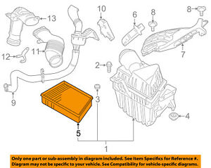image is loading land-rover-oem-range-rover-evoque-engine-air-
