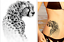thumbnail 132 - LARGE Temporary Waterproof Tattoos Sleeve Women Mens Sticker Transfer Body Arm