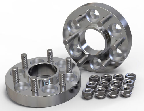 30MM 6X139.7 106.2MM HUBCENTRIC WHEEL SPACER KIT UK MADE fits LAND CRUISER