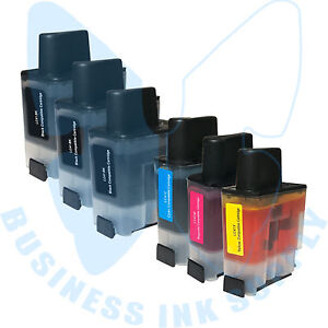 6-PACK-New-LC41-Ink-Cartridges-for-Brother-MFC-640CW-MFC-420CN-MFC-5440CN