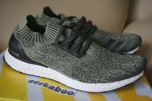 9281d9fe87eda Adidas Ultra Boost Uncaged M Tech Earth Base Olive Green BB3901 sz ...