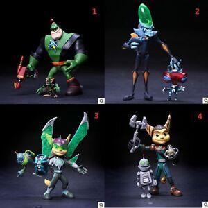 5 Movable Ratchet Clank Dr Nefarious Captain Qwark Action