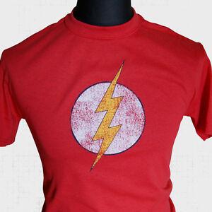 The-Flash-T-Shirt-Sheldon-Cooper-Super-Hero-The-Big-Bang-Theory-Cool-Comic