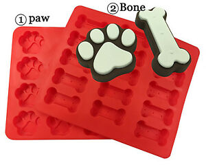 Kitchen Dog Treats Silicone Cookie Cake Pan Mold Bone