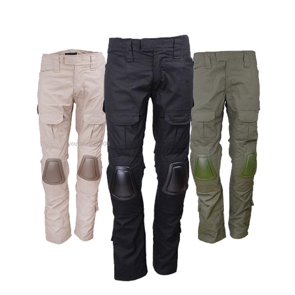 TACTICAL BDU GEN2 COMBAT PANTS WITH KNEE PADS AIRSOFT PANTS
