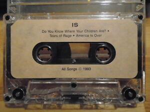 RARE PROMO Is DEMO CASSETTE TAPE alt guitar rock 3 UNRELEASED unknown 1993 !