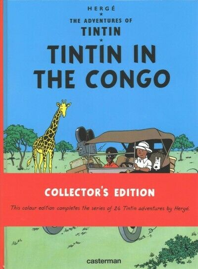 Tintin in the Congo, Hardcover by Herge, ISBN 2203096500, ISBN-13 9782203096509