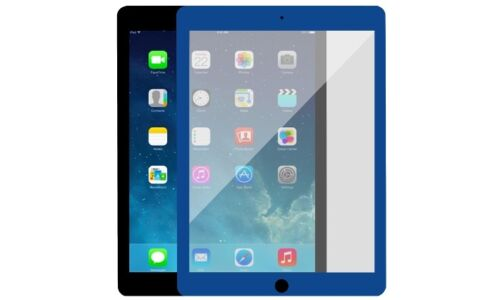 KIT 2X Colorful Clear Screen Protector Film Cover Guard Shield Apple iPad air 2