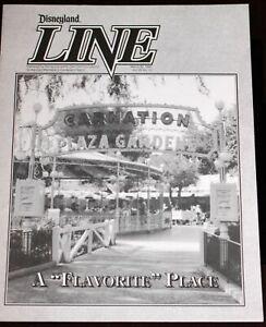 Disneyland 1992 Carnation Plaza Gardens Cast Newsletter w/ Photos Fantasmic