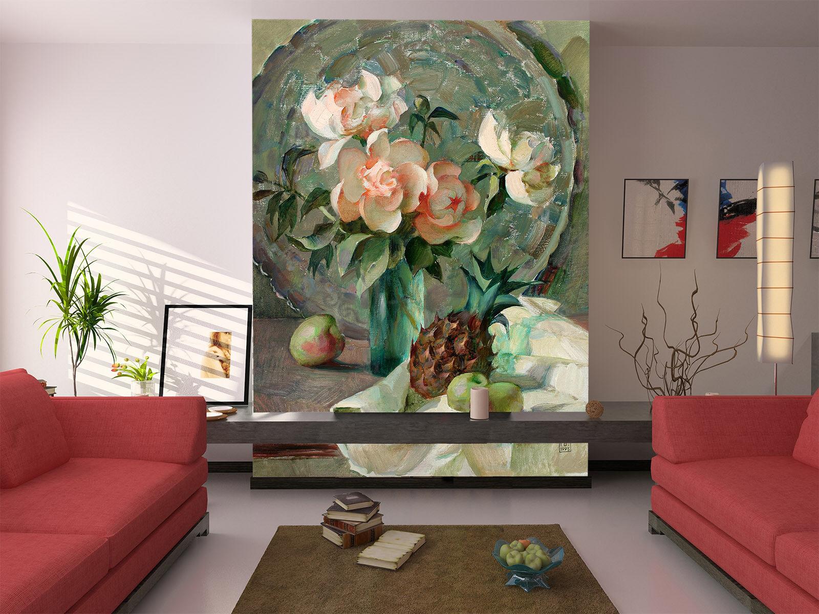 3D Gardenia Flowers 7  Wall Paper Murals Wall Print Wall Wallpaper Mural AU Kyra