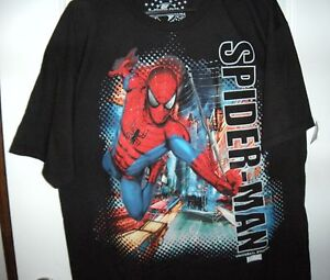 50ef8a1e8 Image is loading Universal-Studios-Marvel-Comics-Spider-Man-Graphic-Tee-
