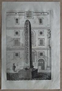 Jacopo-AMIGONI-1682-1752-Original-Kupferstich-Anno-1739-Italien-Rom-Antike-54