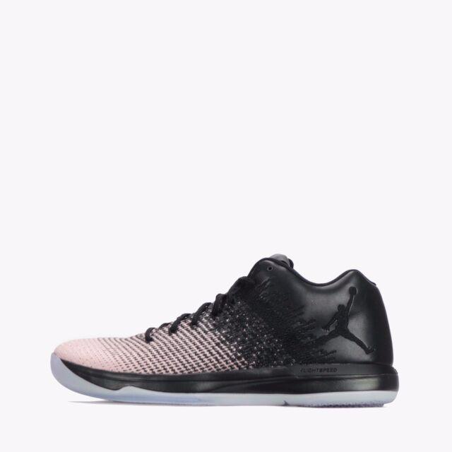 the best attitude b5d2d c6402 Nike Air Jordan XXXI Low Mens Basketball Shoes Black/Dark Grey
