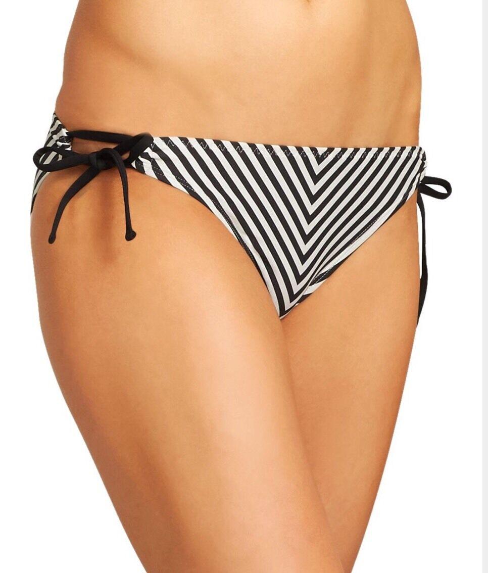 New with tag  49 Athleta Stripe Notsostbkst 8167swimwear 242996 Sz Xxs