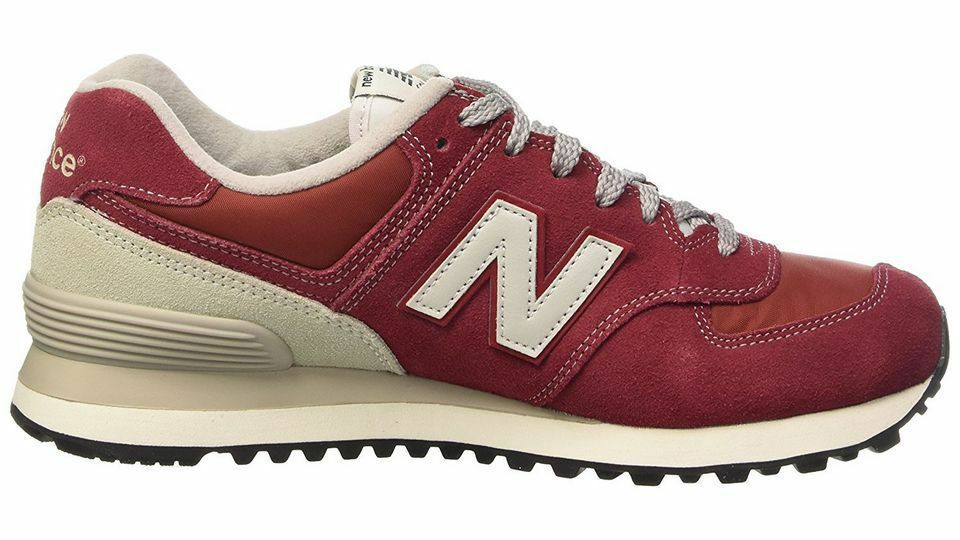 New Balance ML574VBU Lifestyle Classic men's shoes Red White NWB