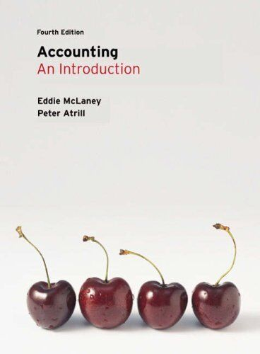 Accounting: An Introduction,Eddie McLaney, Dr Peter Atrill- 9780273711360