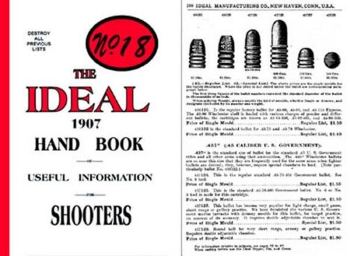 Ideal 1907 Hand Book 18th Edition