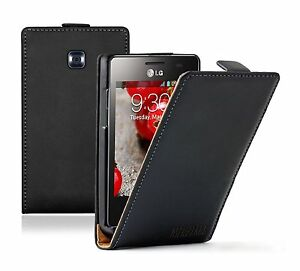ULTRA-SLIM-Leather-Flip-Case-Cover-Pouch-For-LG-Optimus-L3-II-2-E425-E430