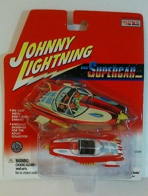 Johnny Lightning Hollywood On Wheels Supercar Playing Mantis Spaceship