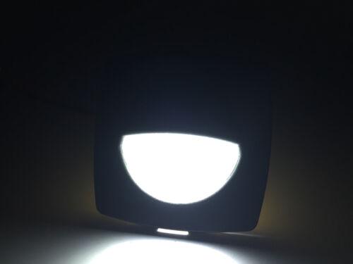 "MARINE BOAT LED RV TRAILER COOL WHITE SQUARE SHAPE COURTESY LIGHT 2.24/""X2.24/"""