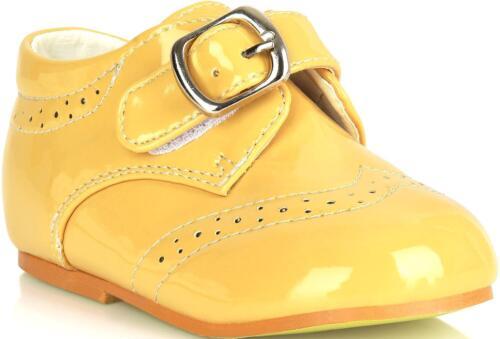 Schuhe Jungen Hochzeit formale Wölbungs-herauf Taufe-Größe Partei-Kinder 1-8