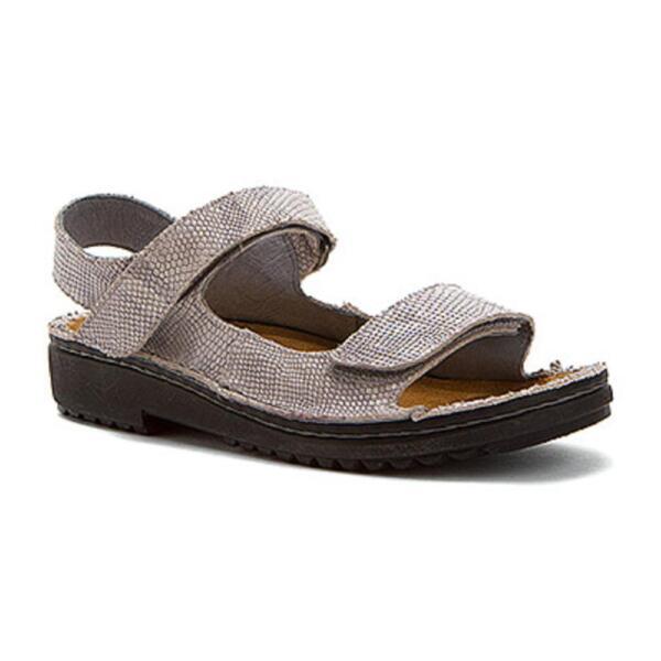 d63d75942bd6 Buy Women s Naot Karenna 37 M Silver Snake Leather online