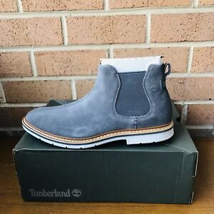 Details about NIB Timberland Men's Naples Trail Chelsea Boot Grey Graphite TB0A1PD6 SIZE:11