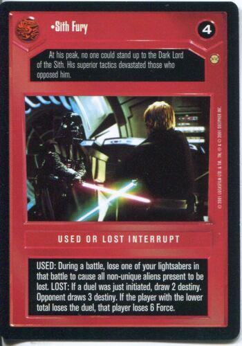 Star Wars CCG Tatooine Sith Fury
