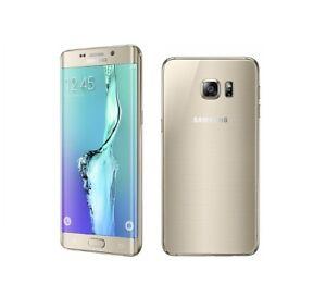Samsung-Galaxy-S6-Edge-in-Gold-Handy-Dummy-Attrappe-Requisit-Deko-Werbung