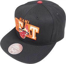 Mitchell & Ness NBA Miami Heat Reflective Tri Pop Arch VQ85Z Snapback Cap New