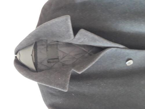hommes taille noir court 28 Manteau manteau qxZzAwnzUS