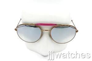 1547a4a214 New Ray-Ban Double Bridge Flash Silver Lens Sunglasses RB3540 198 9U ...