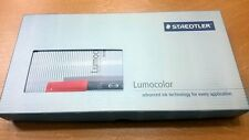 Staedtler Lumocolor Set 1 Permanent M Black + 1 Whiteboard Marker Black NIB