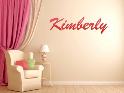 Custom Two Toned Name Removable Art Vinyl Wall Decal Sticker Decor Baby Nursery