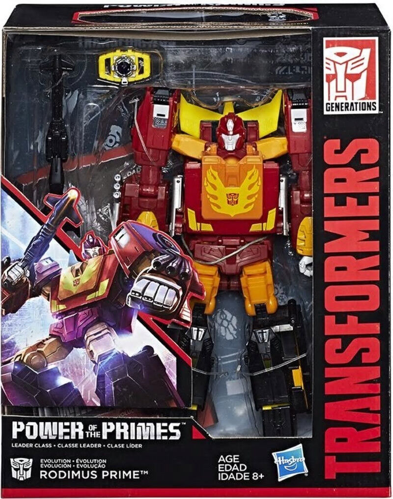 Transformers Generations Power of the Primes Leader - Rodimus Prime - Brand New