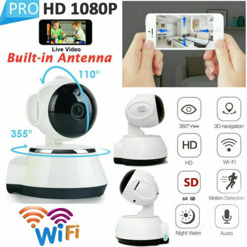 Heimvision 1080p Security Camera With Smart Night Vision Ptz Two Way Home For Sale Ebay